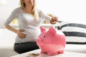 how to save money having a baby