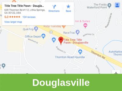 Title Tree Title Pawn Douglasville office area.