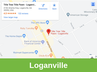 Title Tree Title Pawn Loganville office area.